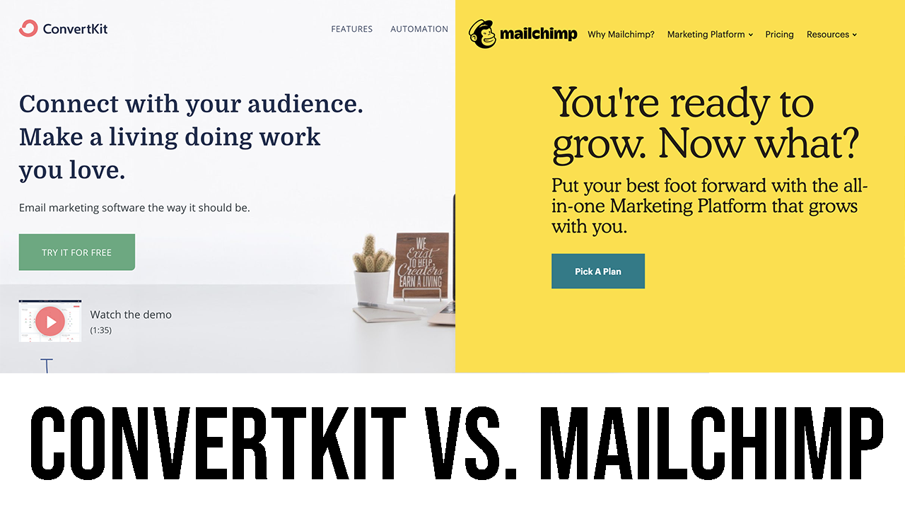 The 8-Minute Rule for Convertkit Vs Mailchimp