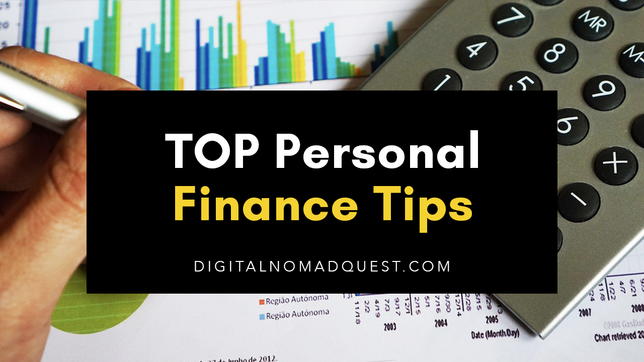 Top 5 Personal Finance Tips for Recent Grads - Digital Nomad Quest
